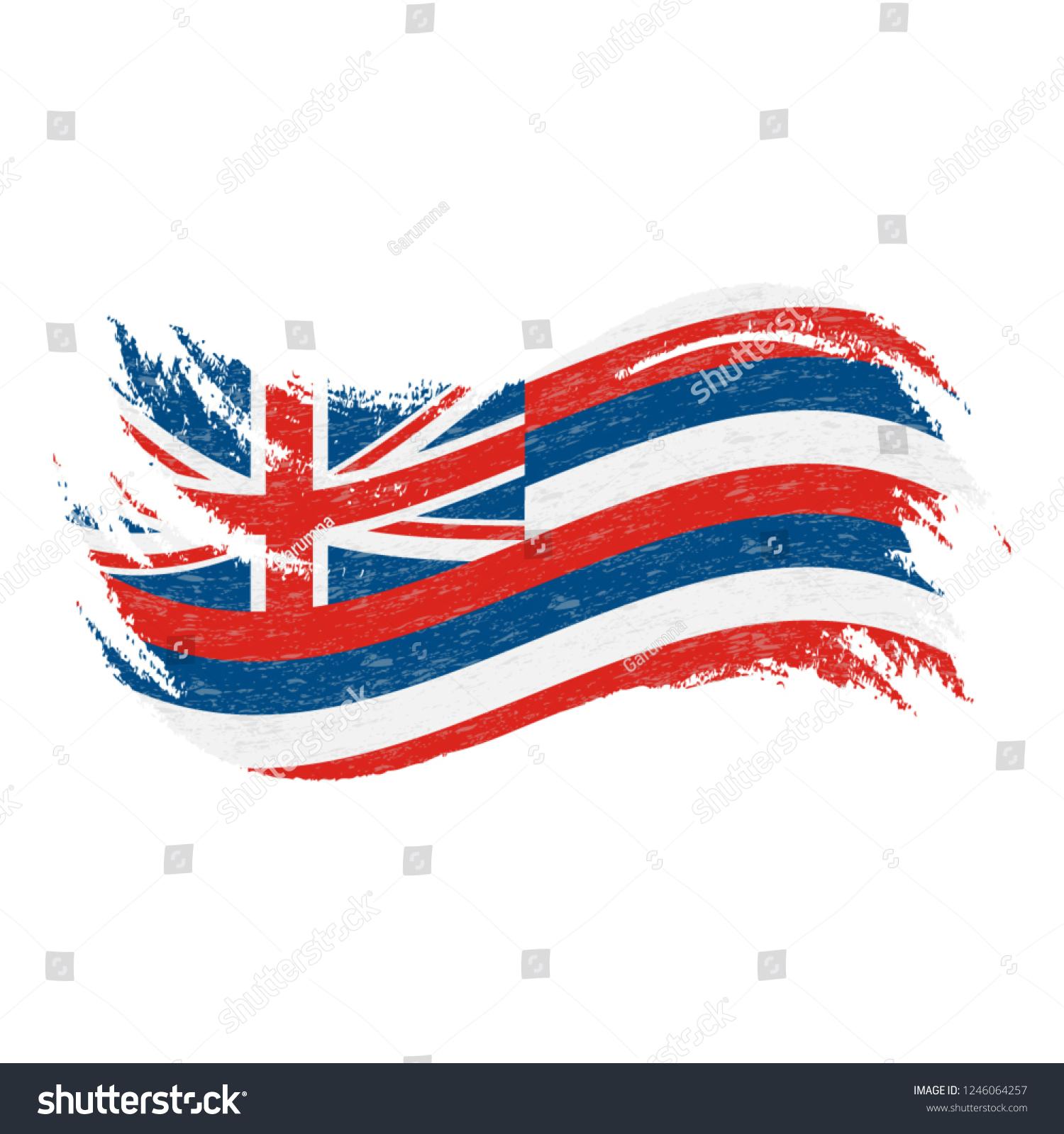 5 pies IUwnHceE Bandera del Estado de Hawaii pr/áctica de la Bandera Polo Durable de la Bandera de Hawaii Ojal port/átil de Metal para el Festival de Actividades 3