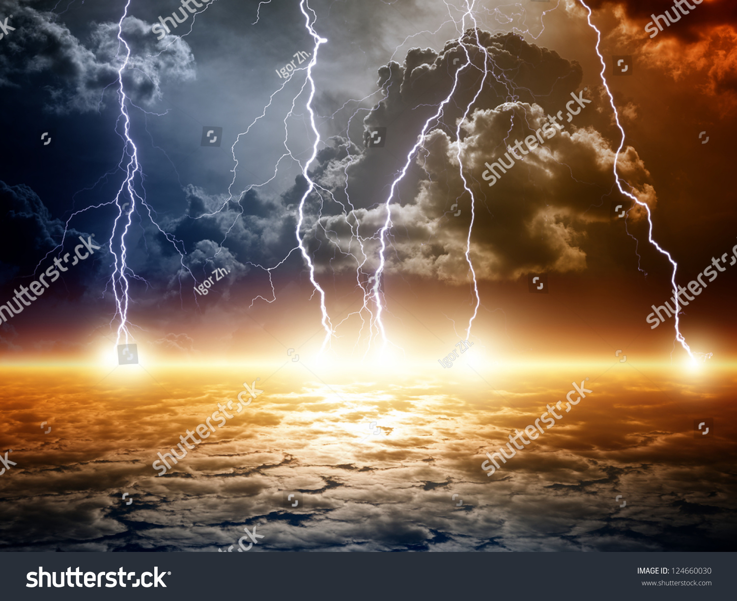 Dramatic Apocalyptic Background End World Bright Stock Illustration 124660030 - Shutterstock & Dramatic Apocalyptic Background End World Bright Stock Illustration ...