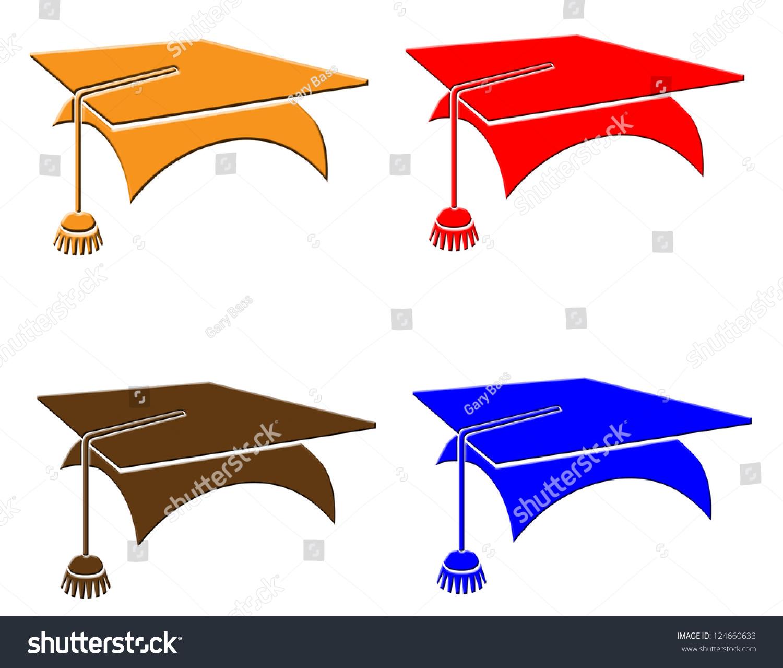 Graduation Hat Symbols Stock Illustration 124660633 Shutterstock