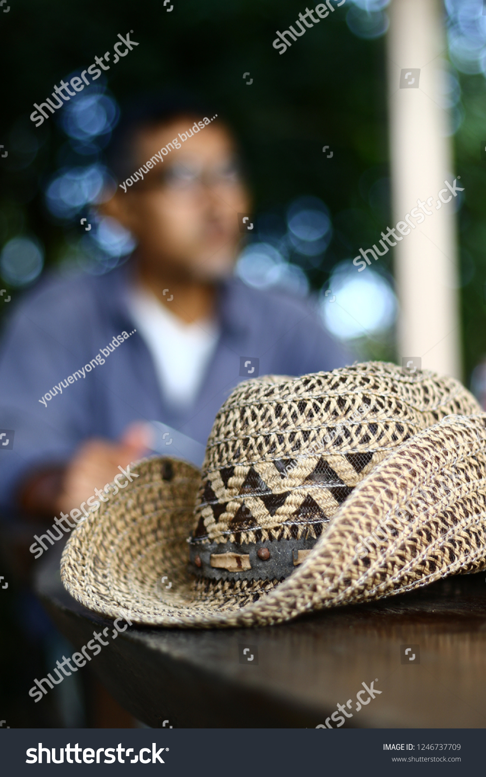 Hats made from water hyacinth, Hat weave, hat ,Cowboy Hat weave,Cowboy Hat #1246737709