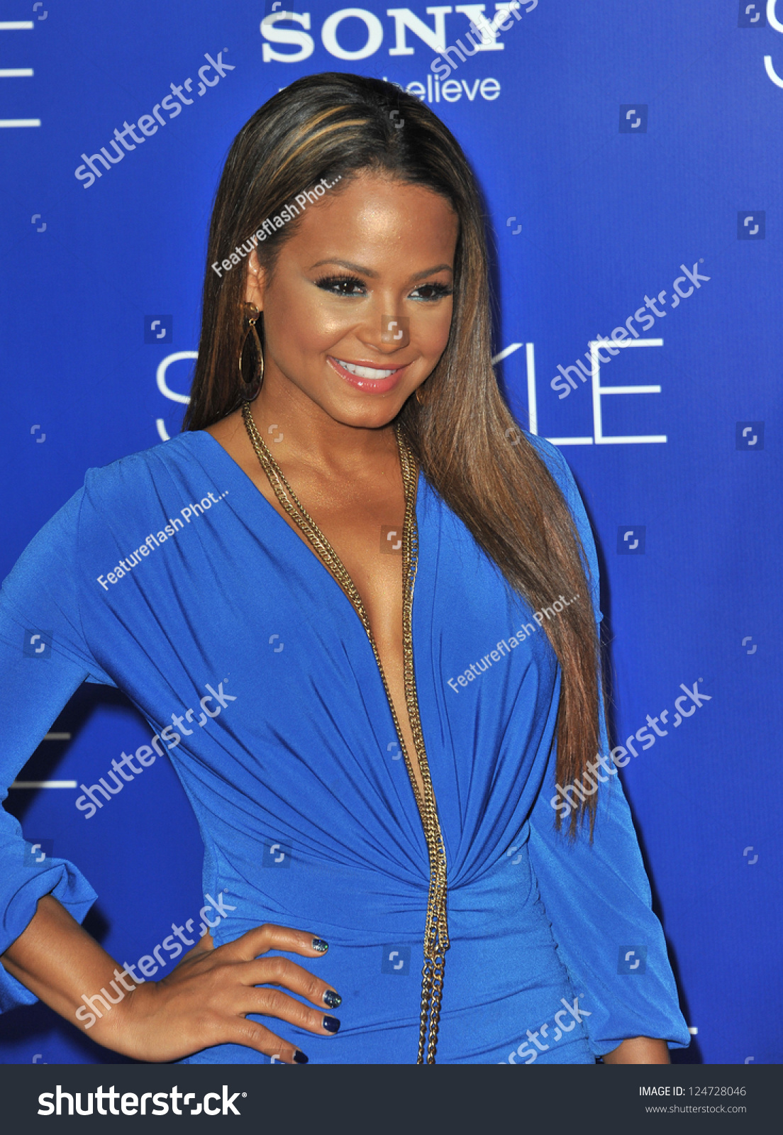 """Christina Milian At The World Premiere Of """"Sparkle"""" At ..."""