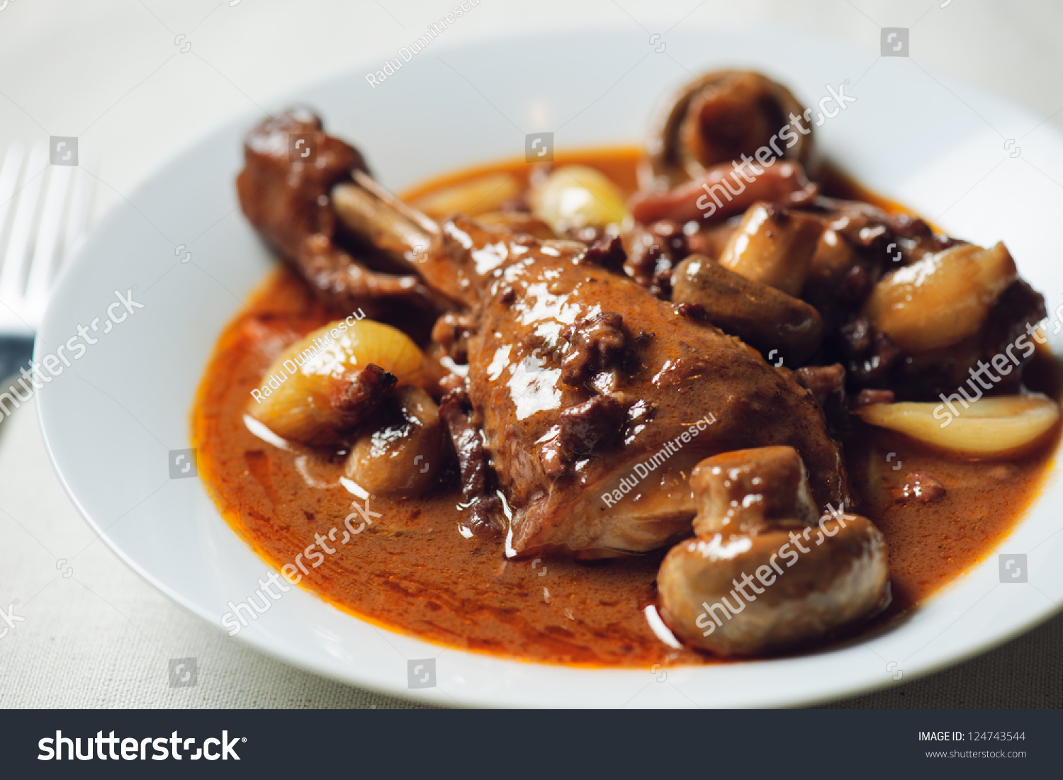 French coq au vin fine french stock photo 124743544 - French cuisine definition ...