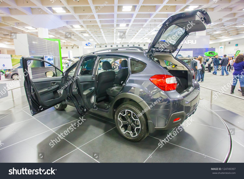 San Francisco November Subaru Stock Photo - Moscone car show