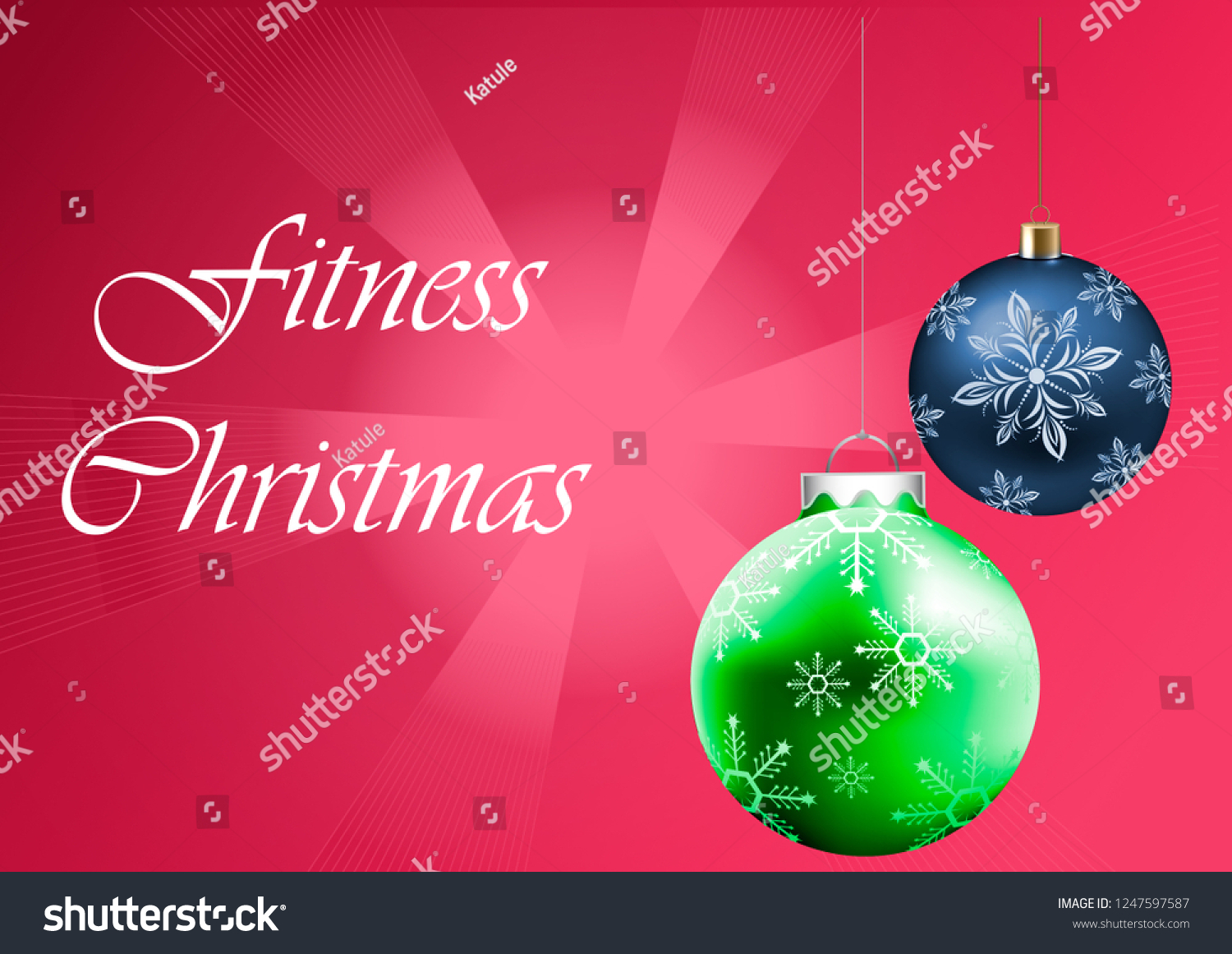 christmas and happy new year fitness wallpaper
