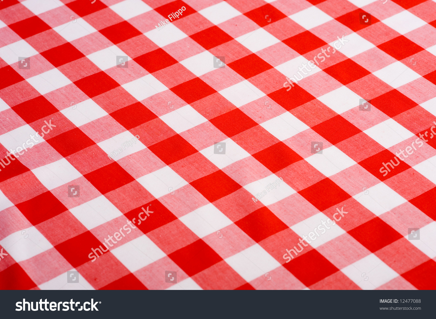 Table Cloth Background : Red And White Checkered Tablecloth Background gingham tablecloth stock ...