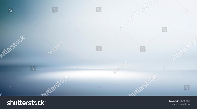 Empty studio gradient background and display product