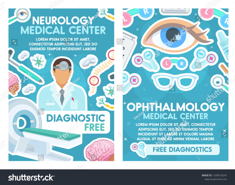 medical posters neurology ophthalmology ophthalmologist neurologist
