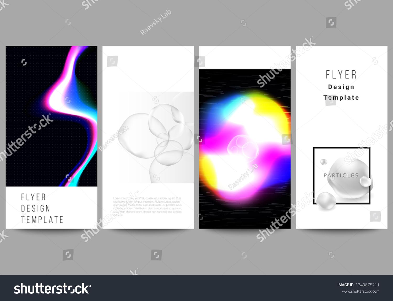 Minimalistic Vector Layout Flyer Banner Design Stock Vector (Royalty