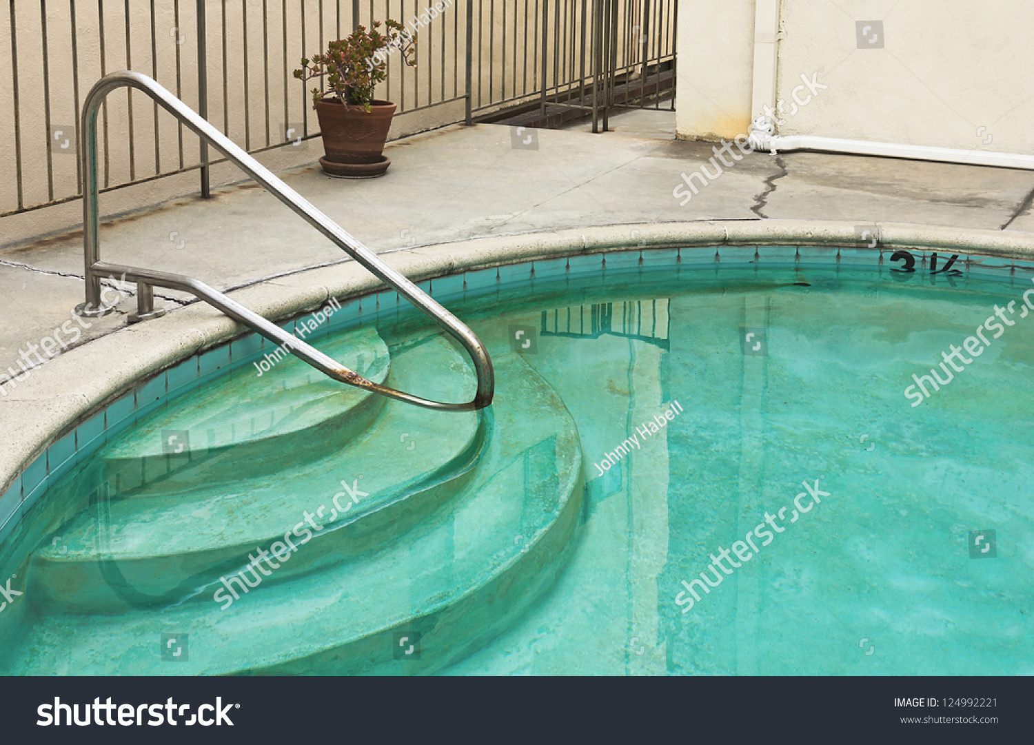 Swimming pool is old and dirty stock photo 124992221 for What to do with old swimming pool