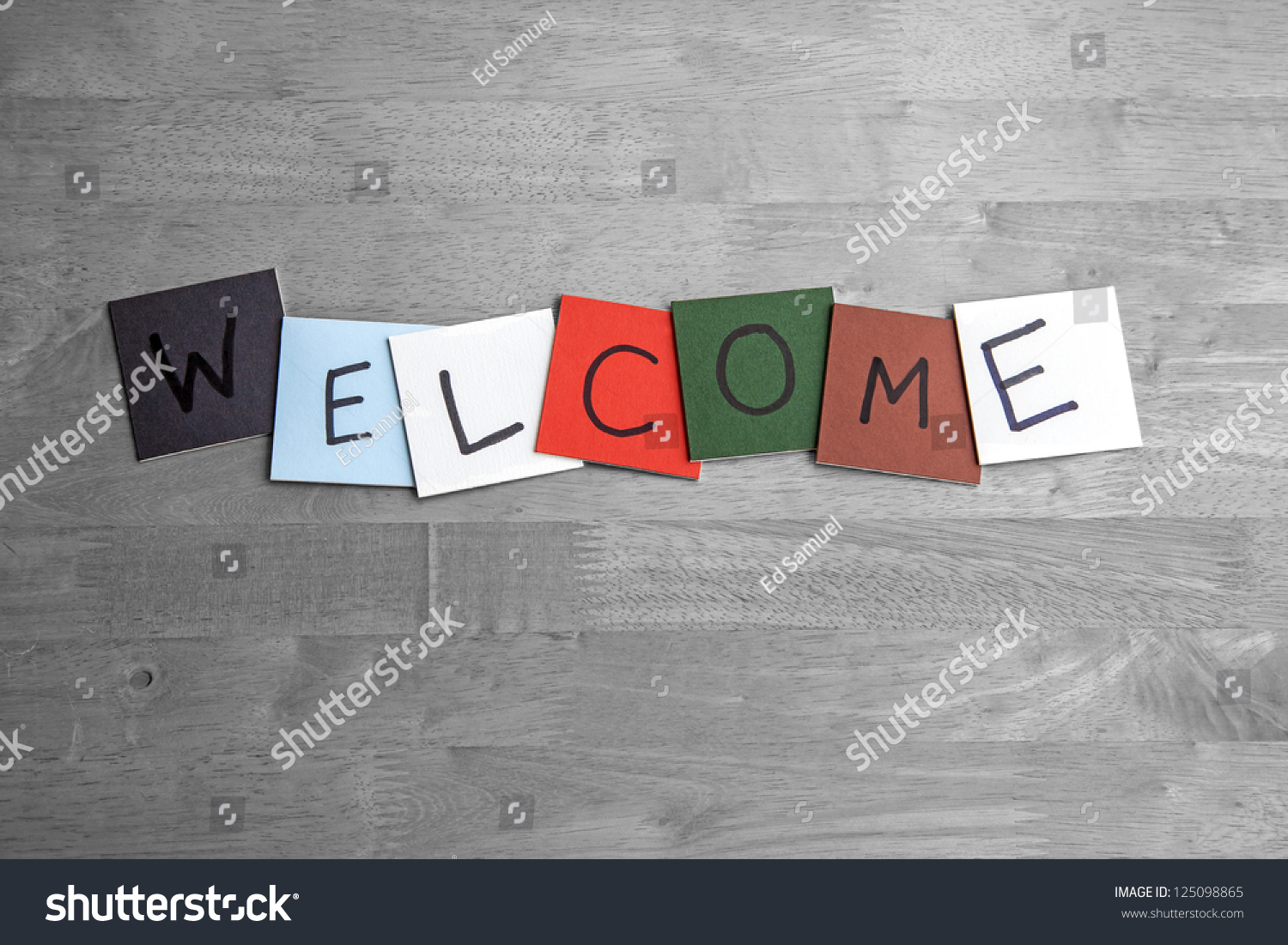 Welcome Sign For Business, Public Relations, Social Events ...