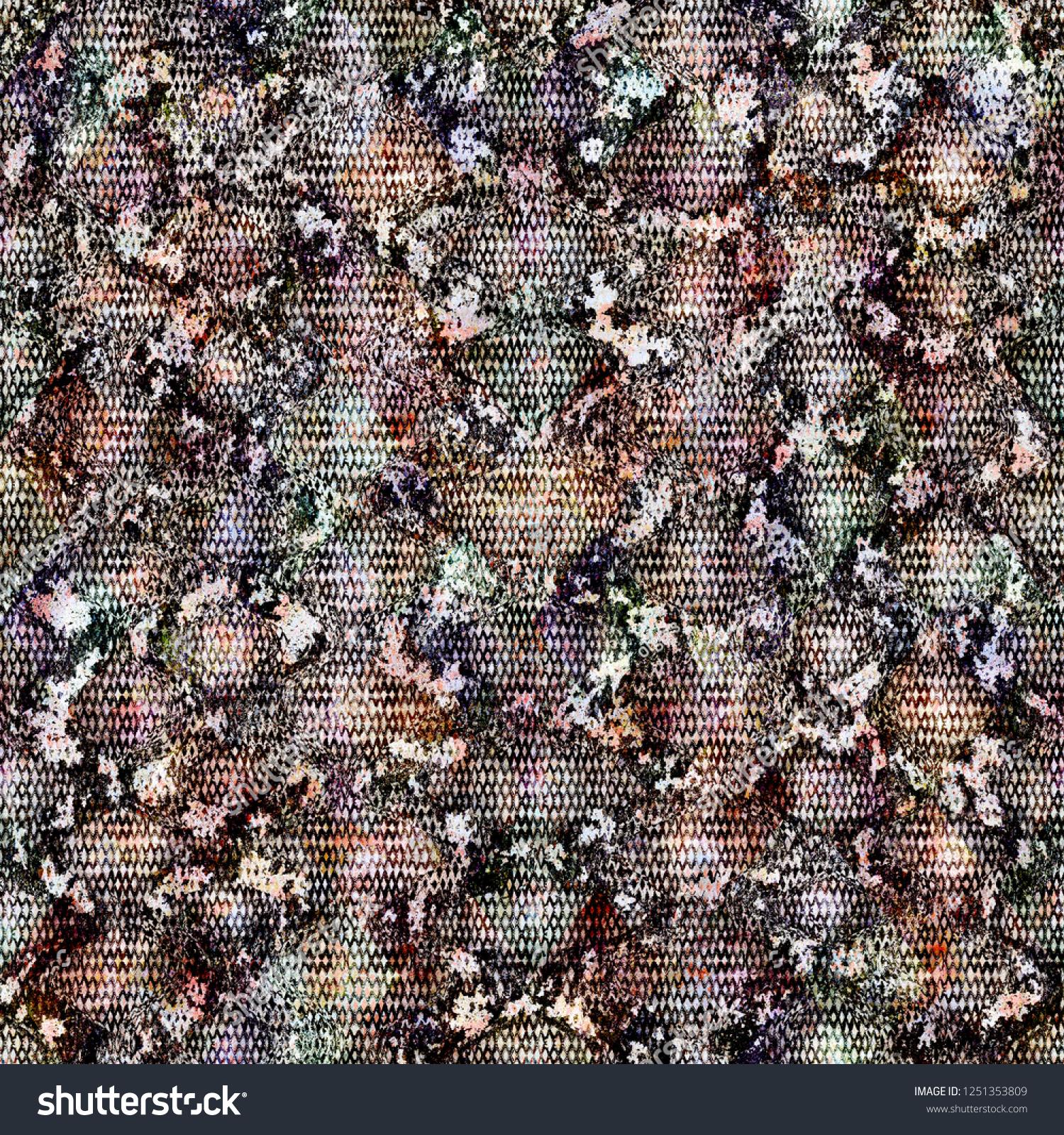 Snake Skin Seamless Pattern Reptile Python Stock