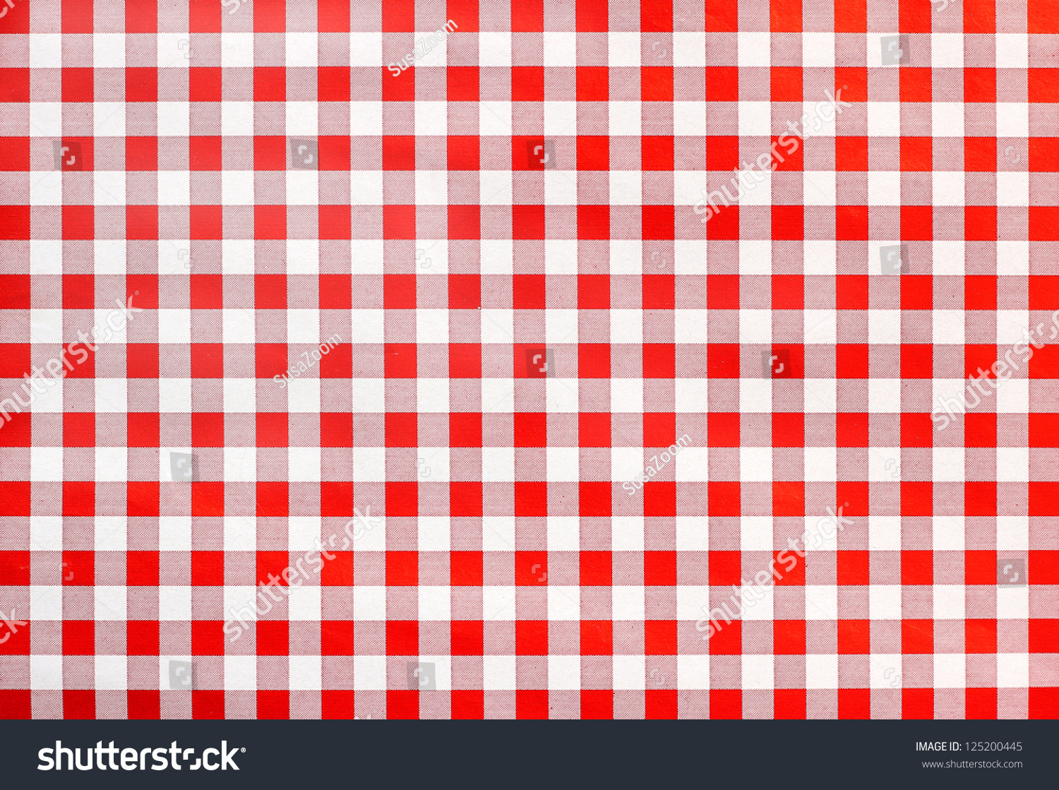 Rural Bavarian Table Cloth, Red And White Checkered, Background Design