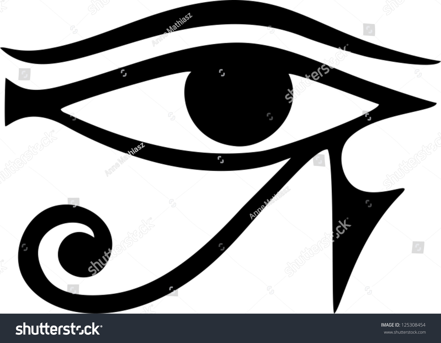 Egyptian Symbol Moon Clipart Library
