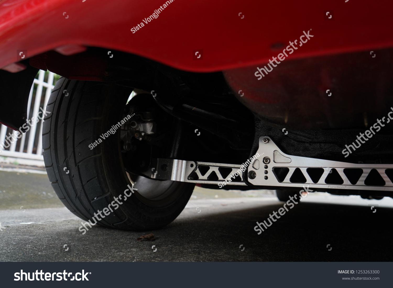 Race Cars Suspension Design Stock Photo (Edit Now) 1253263300