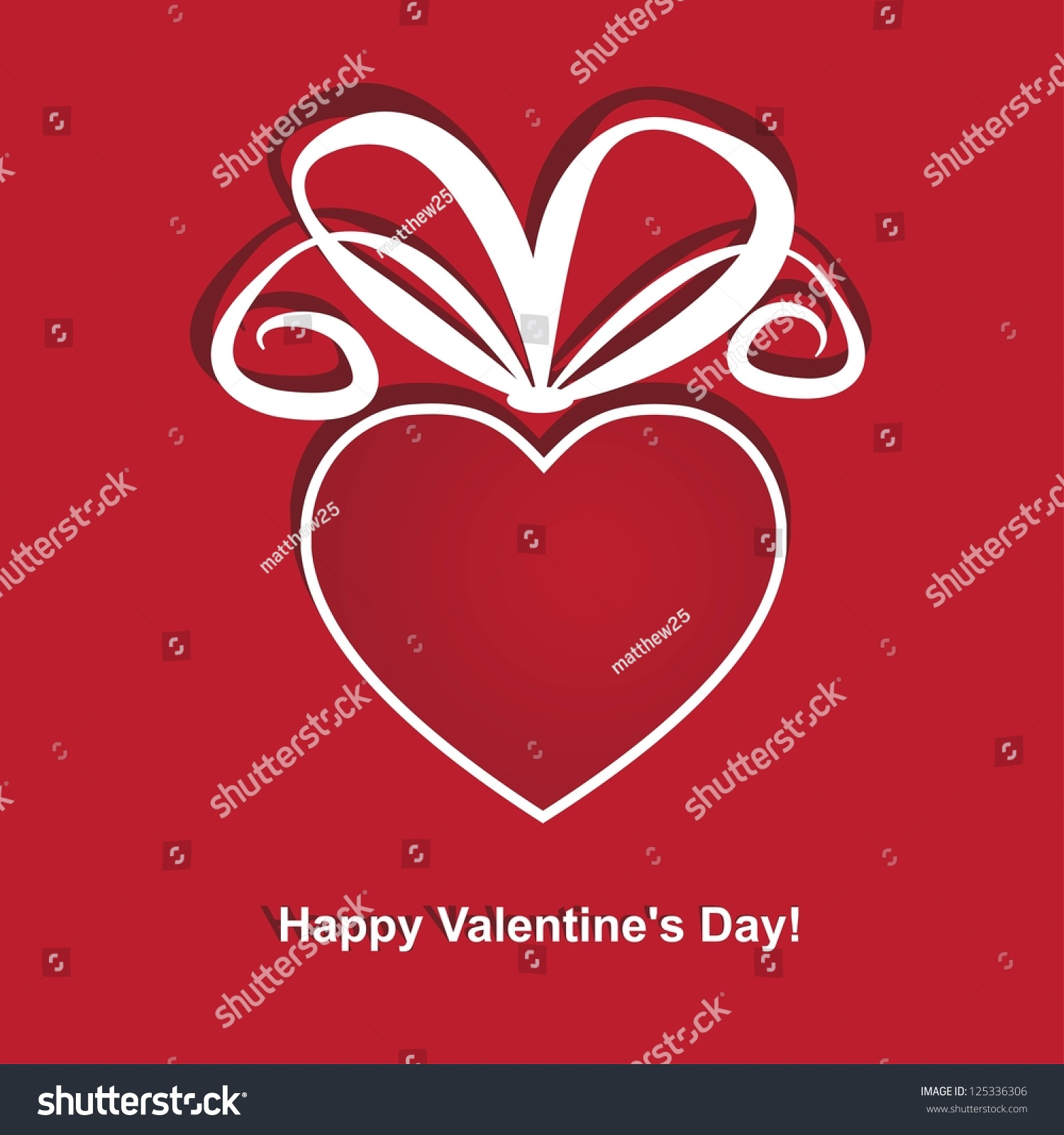 Greeting cards valentines day heartshaped red stock vector 125336306 greeting cards for valentines day a heart shaped red gift kristyandbryce Gallery