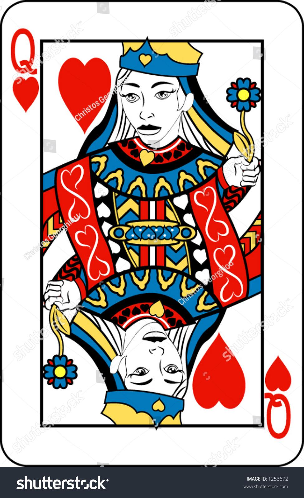 King card vector