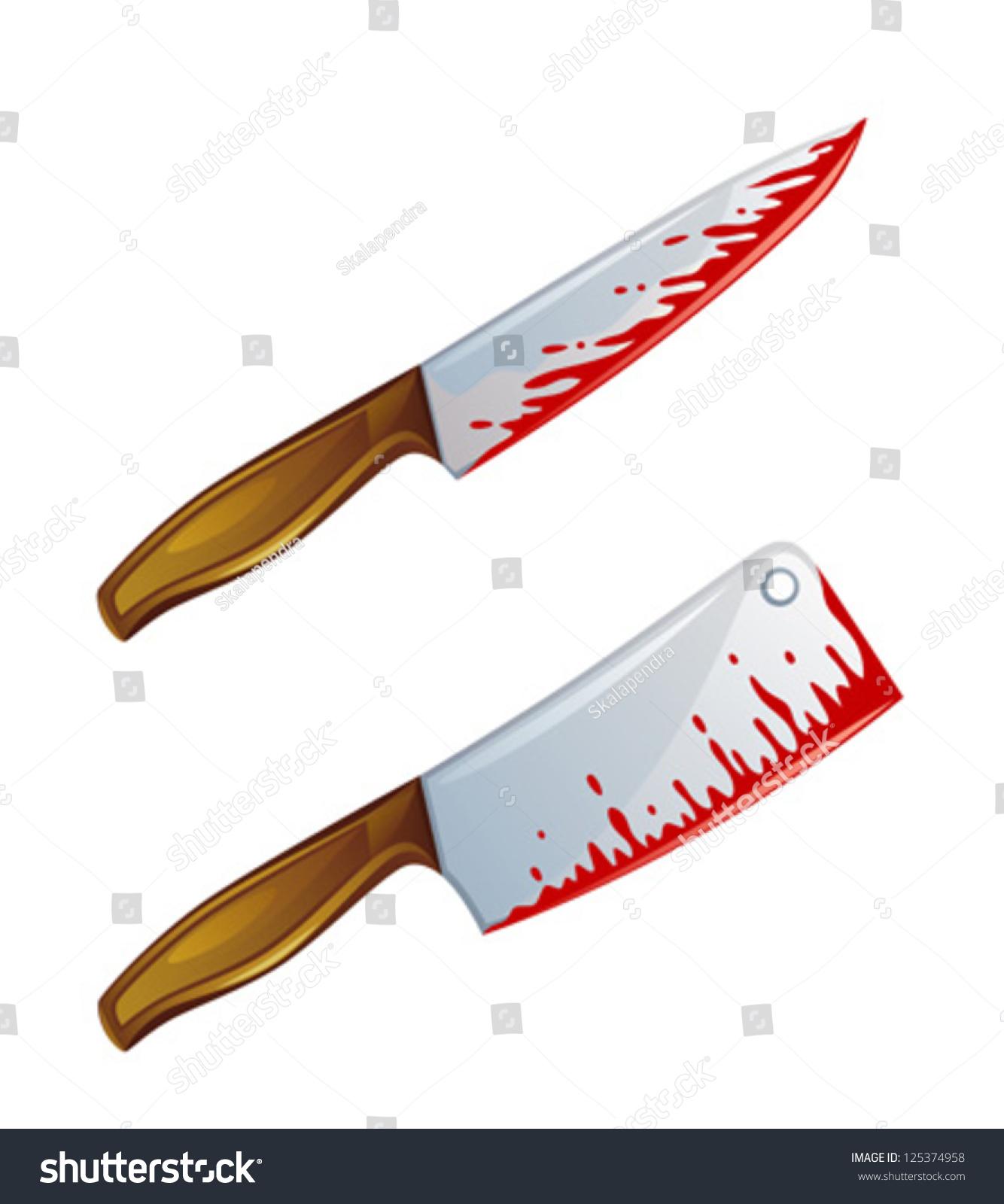 bloody knife stock vector 125374958 shutterstock bloody knife clip art bloody knife clipart