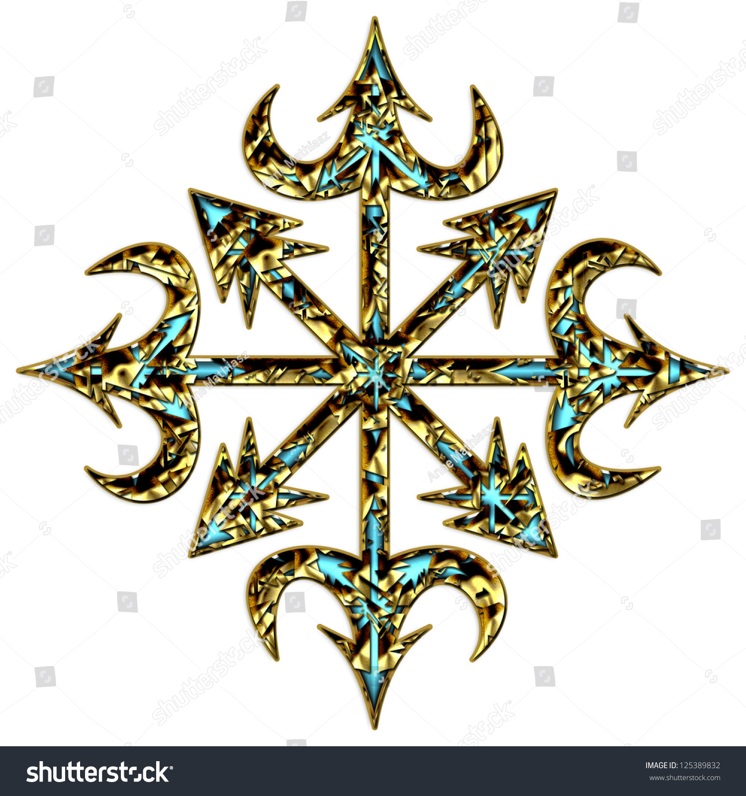 Symbol chaos chaos star chaos cross stock illustration 125389832 symbol of chaos chaos star chaos cross symbol of eight arms of biocorpaavc Image collections