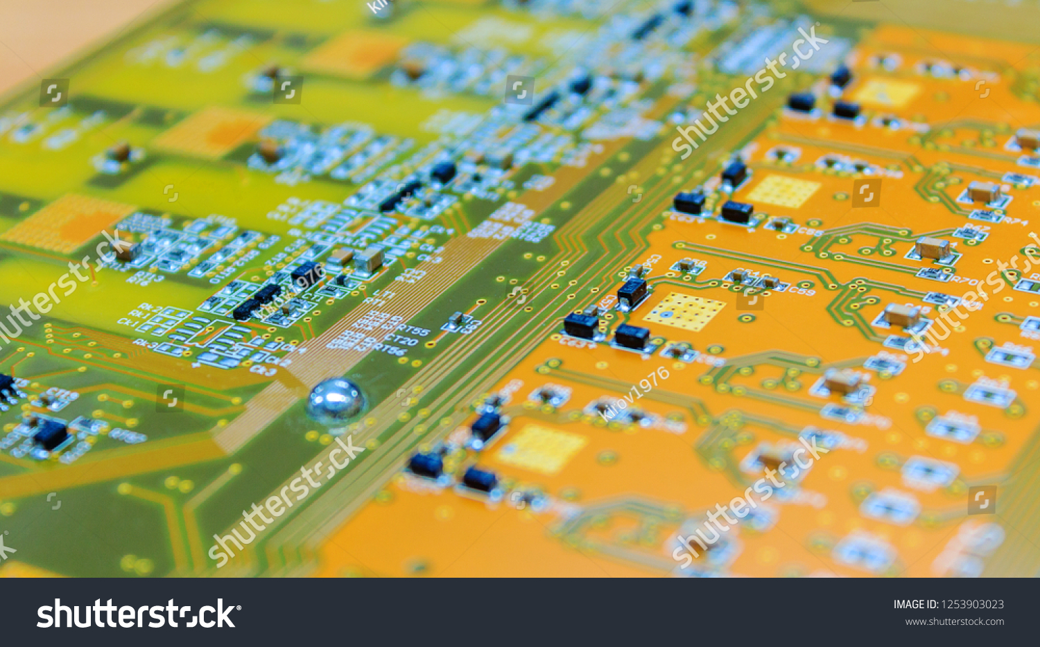Printed Circuit Board Close Background Stock Photo Edit Now Photos Images Pictures Shutterstock Up For