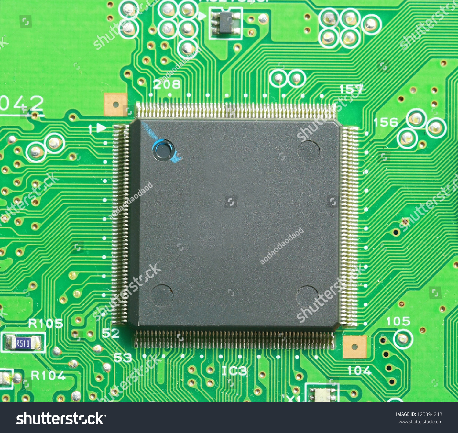 Green Electronic Pcb Circuit Background Close Stock Photo Edit Now Board Manufacturing With Low Cost Up Microchip Cpu And Component Computer