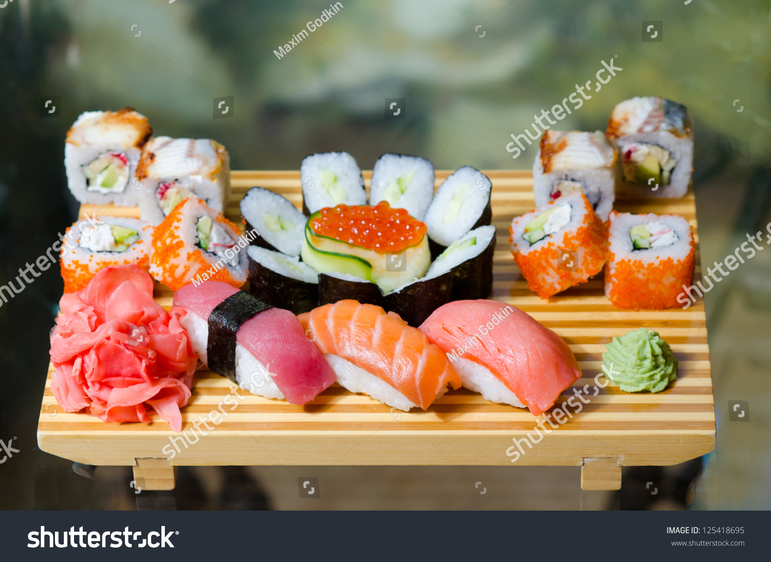 Traditional japanese food roll stock photo 125418695 for Abis japanese traditional cuisine