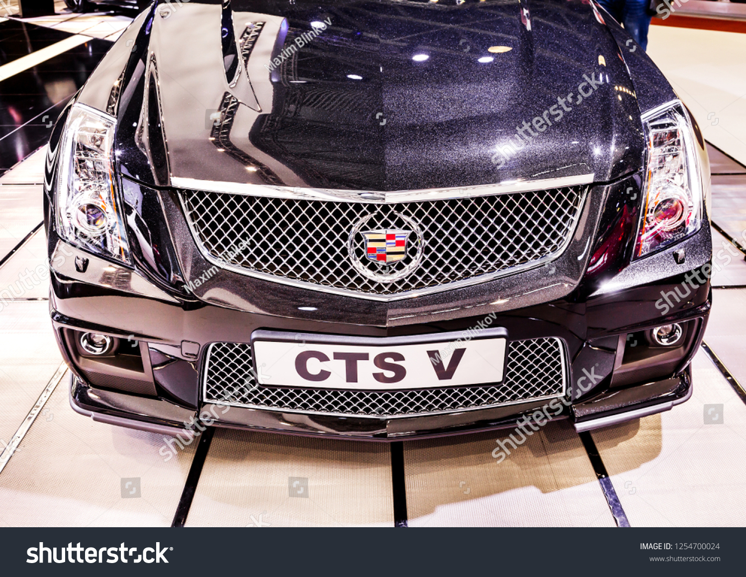 Moscow Russia Sept 4 2012 Cadillac Stock Photo Edit Now 1254700024