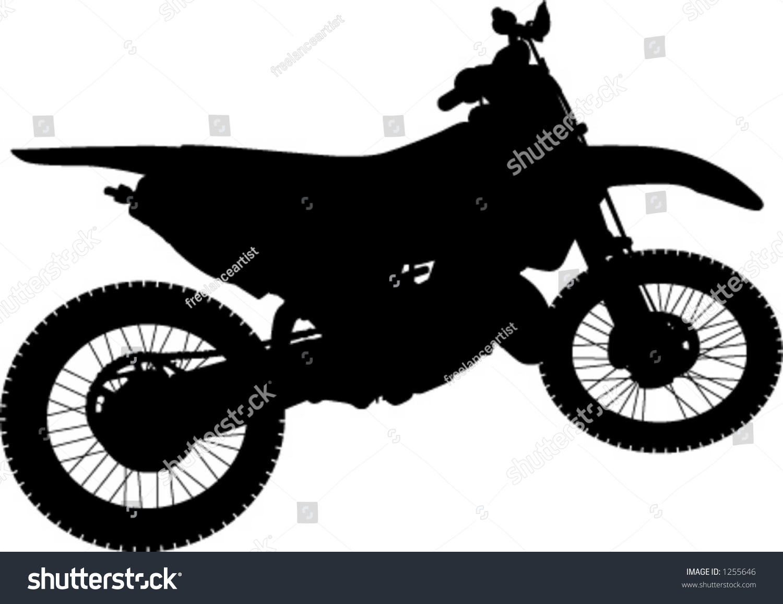 Motorbike Wall Stickers Dirt Bike Trick Silhouette Www Pixshark Com Images