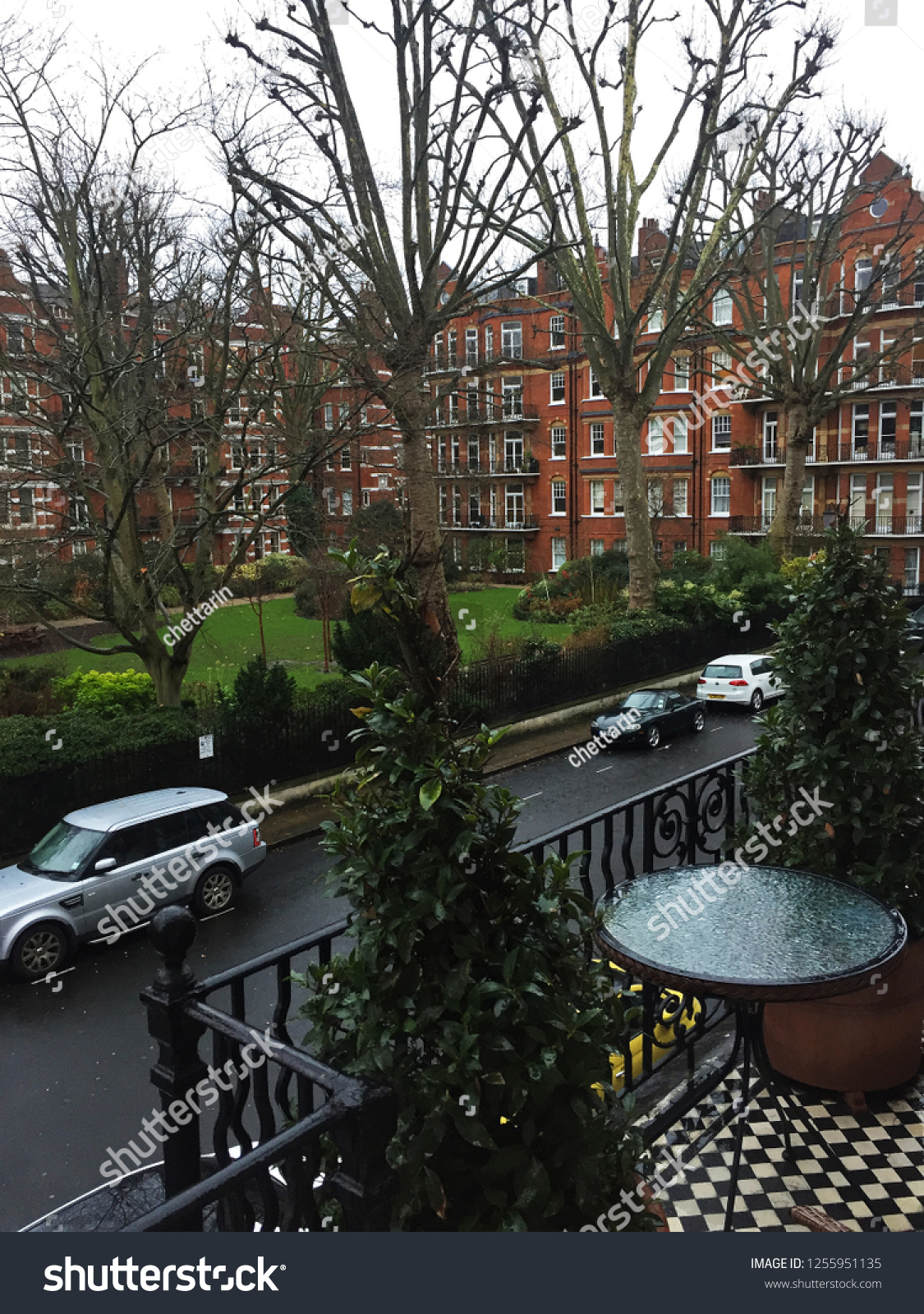 Londonunited Kingdomdecember 312017exterior Garden View Design Stock Photo Edit Now 1255951135