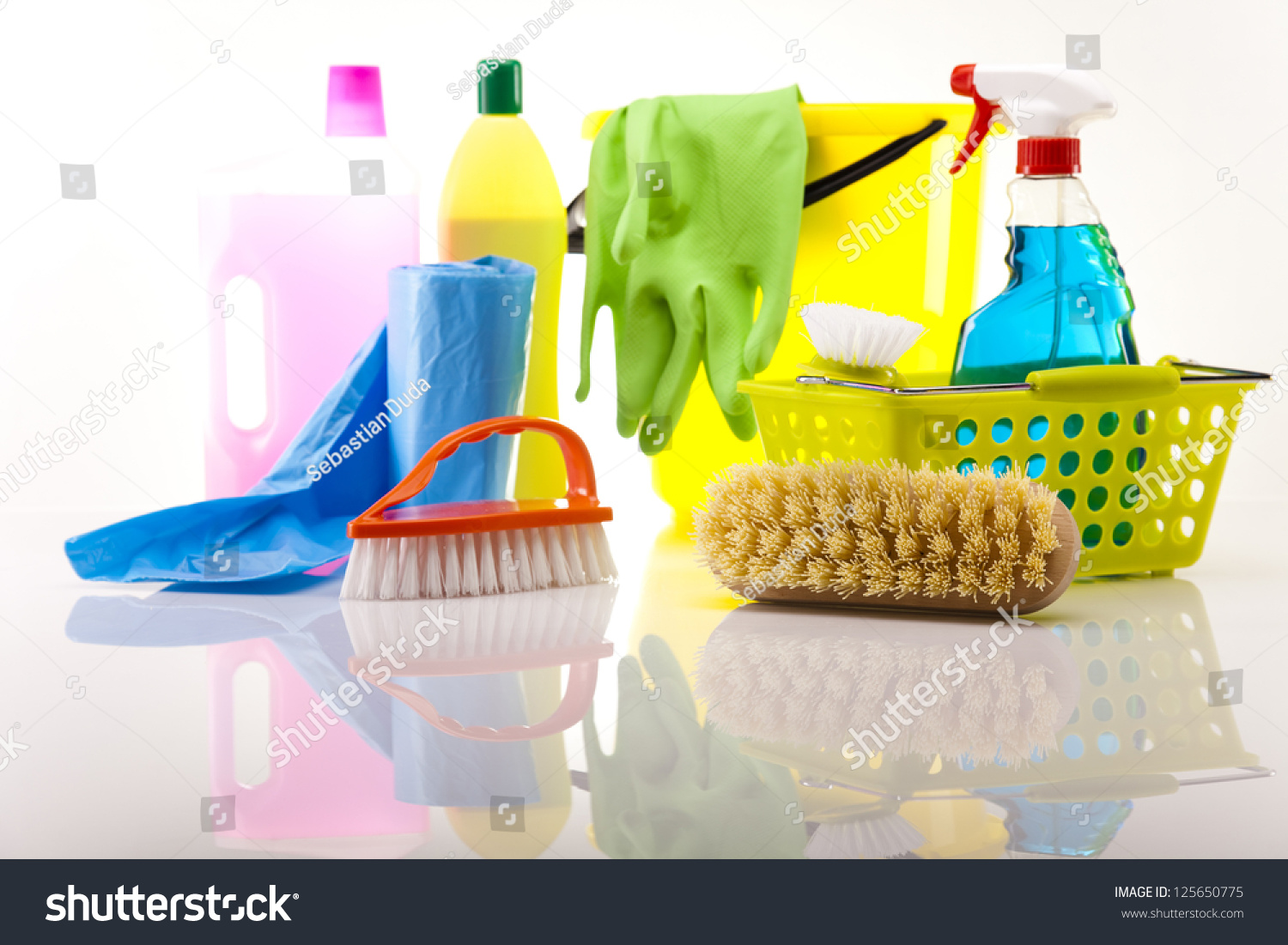 House cleaning product stock photo 125650775 shutterstock for House cleaning stock photos