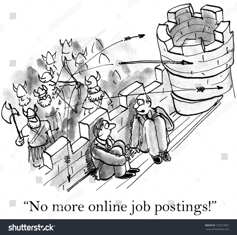 Online resume postings