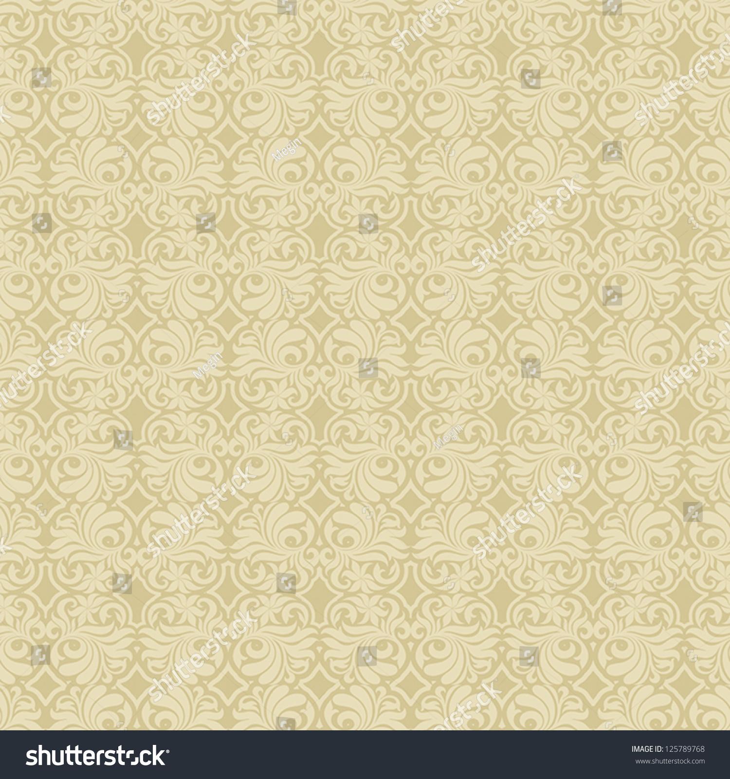 antique cream wallpaper - photo #22
