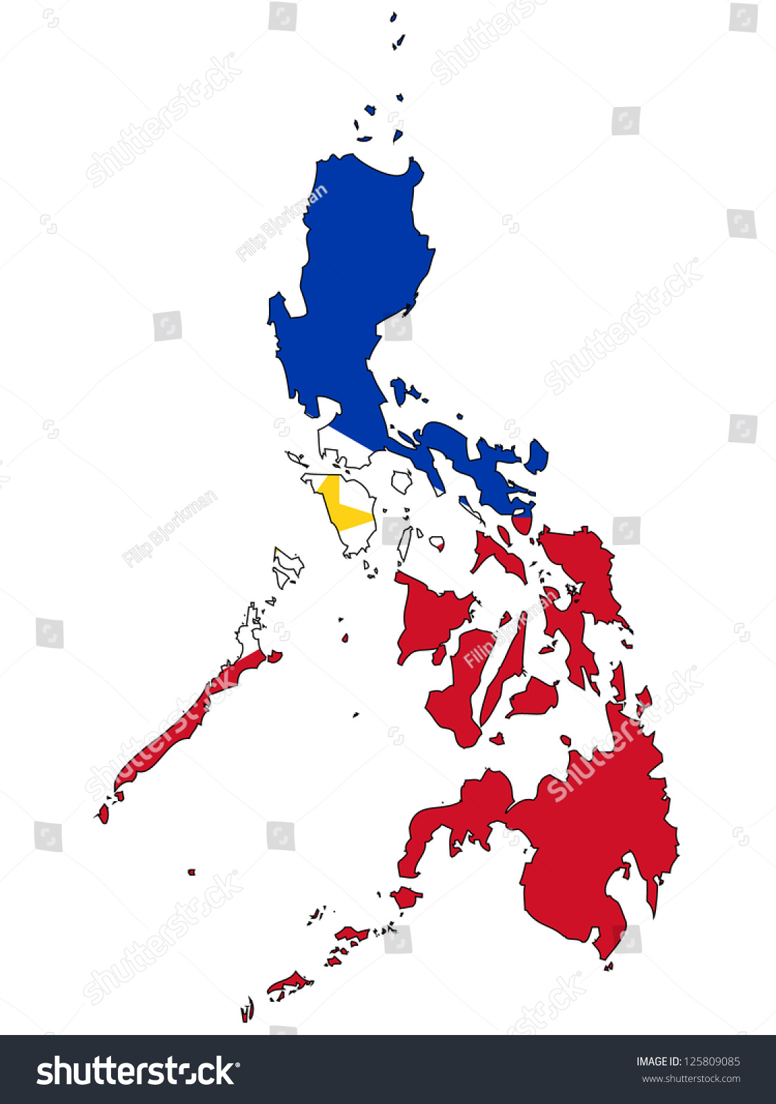 philippine map clipart black and white - photo #29