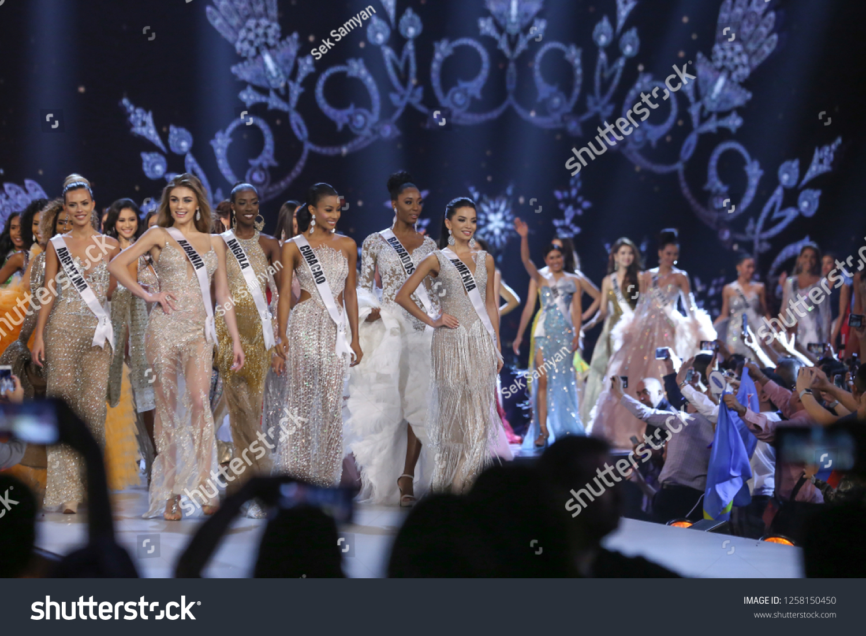 Bangkok Thailand Dec 13 2018 Miss Stock Photo (Edit Now