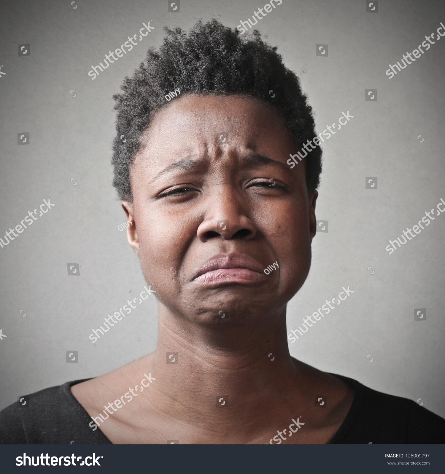 Stock Photo Black Sad