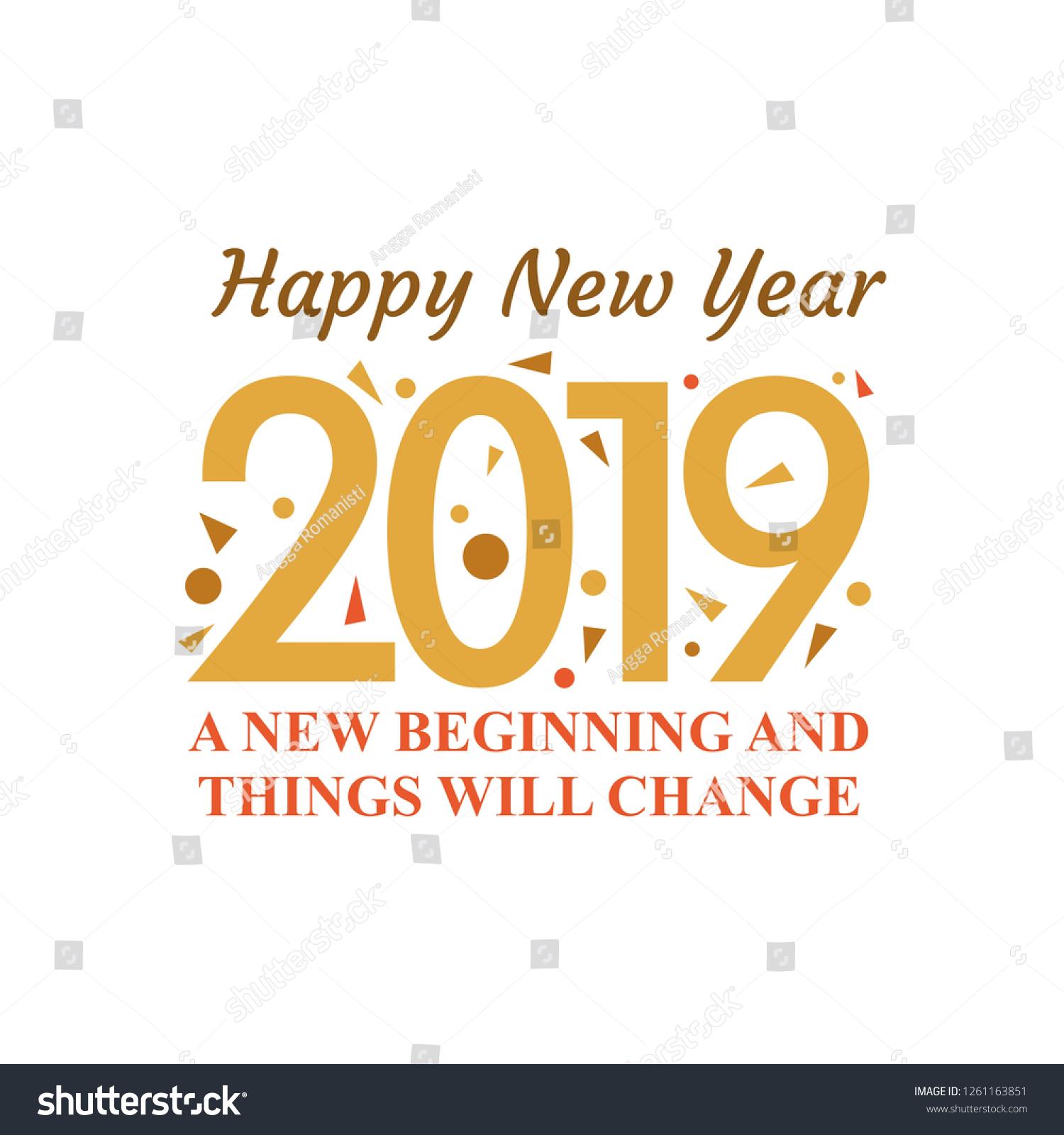 vector de stock libre de regalias sobre happy new year card