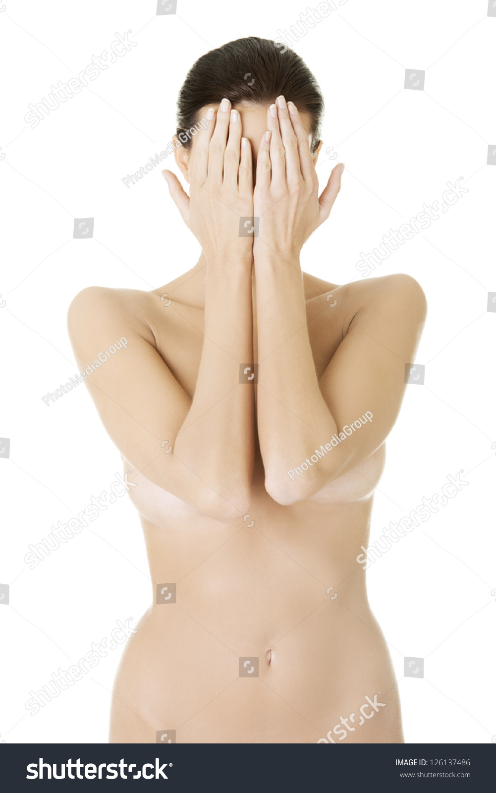 Litlle girl peeing
