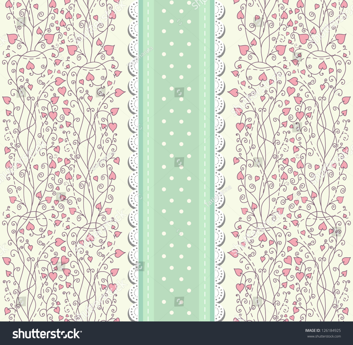 retro wallpaper with rosebuds in shabby chic style ez canvas