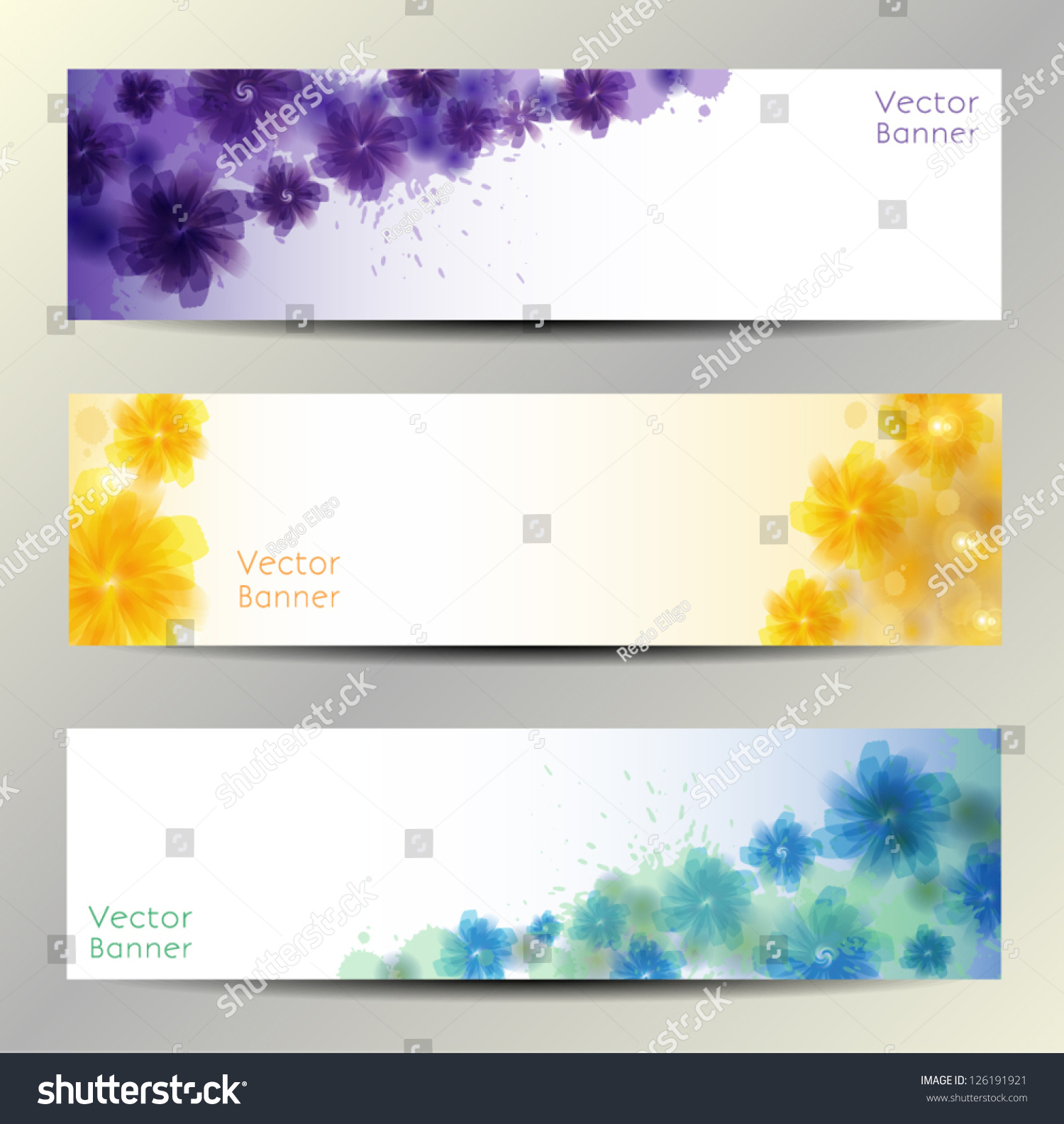 abstract flower vector background brochure template stock vector 126191921 shutterstock. Black Bedroom Furniture Sets. Home Design Ideas