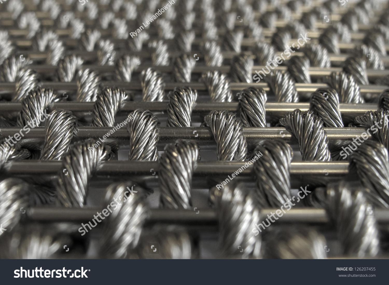 Steel Woven Wire Mesh Stock Photo (Edit Now) 126207455 - Shutterstock