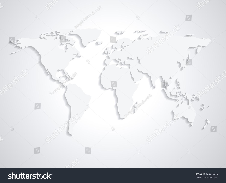 World map from nasa public domain stock vector royalty free world map from nasa public domain httpearthobservatorysa gumiabroncs Choice Image