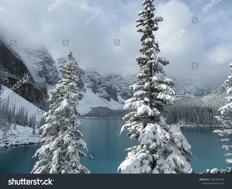 Moraine Lake Lake Louise Alberta Canada Stock Photo Edit
