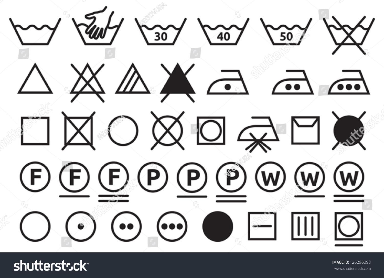 washing instruction symbols meaning