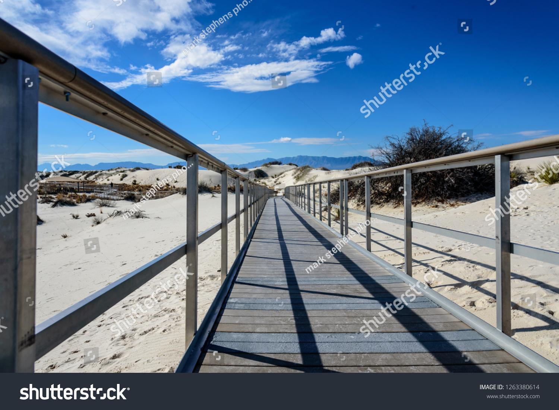 stock-photo--interdune-boardwalk-and-the