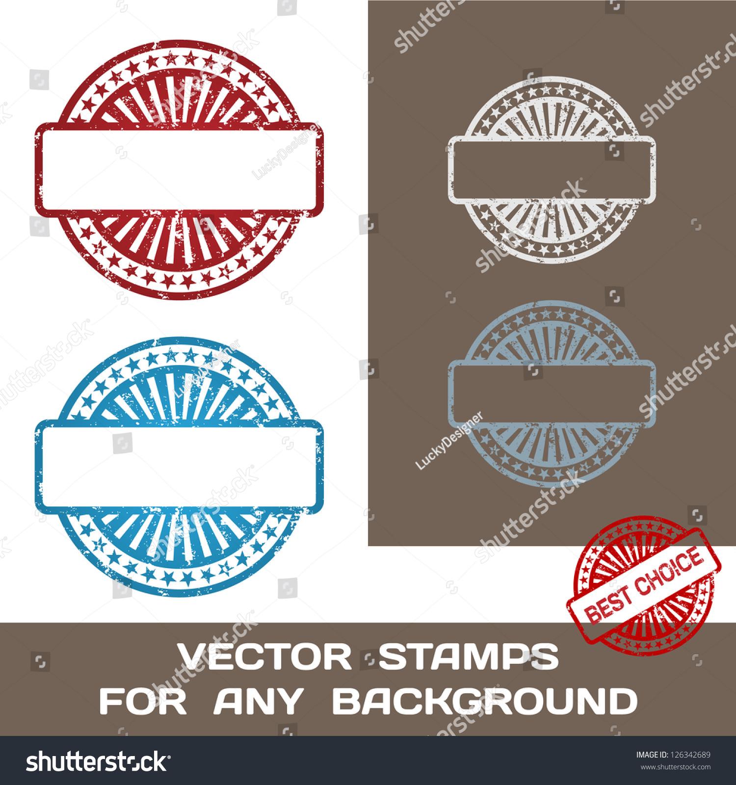 Rubber Stamp Design Template