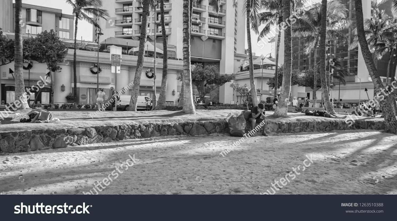 Honolulu Hawaii Usa Dec 21 2018 Stock Photo (Edit Now