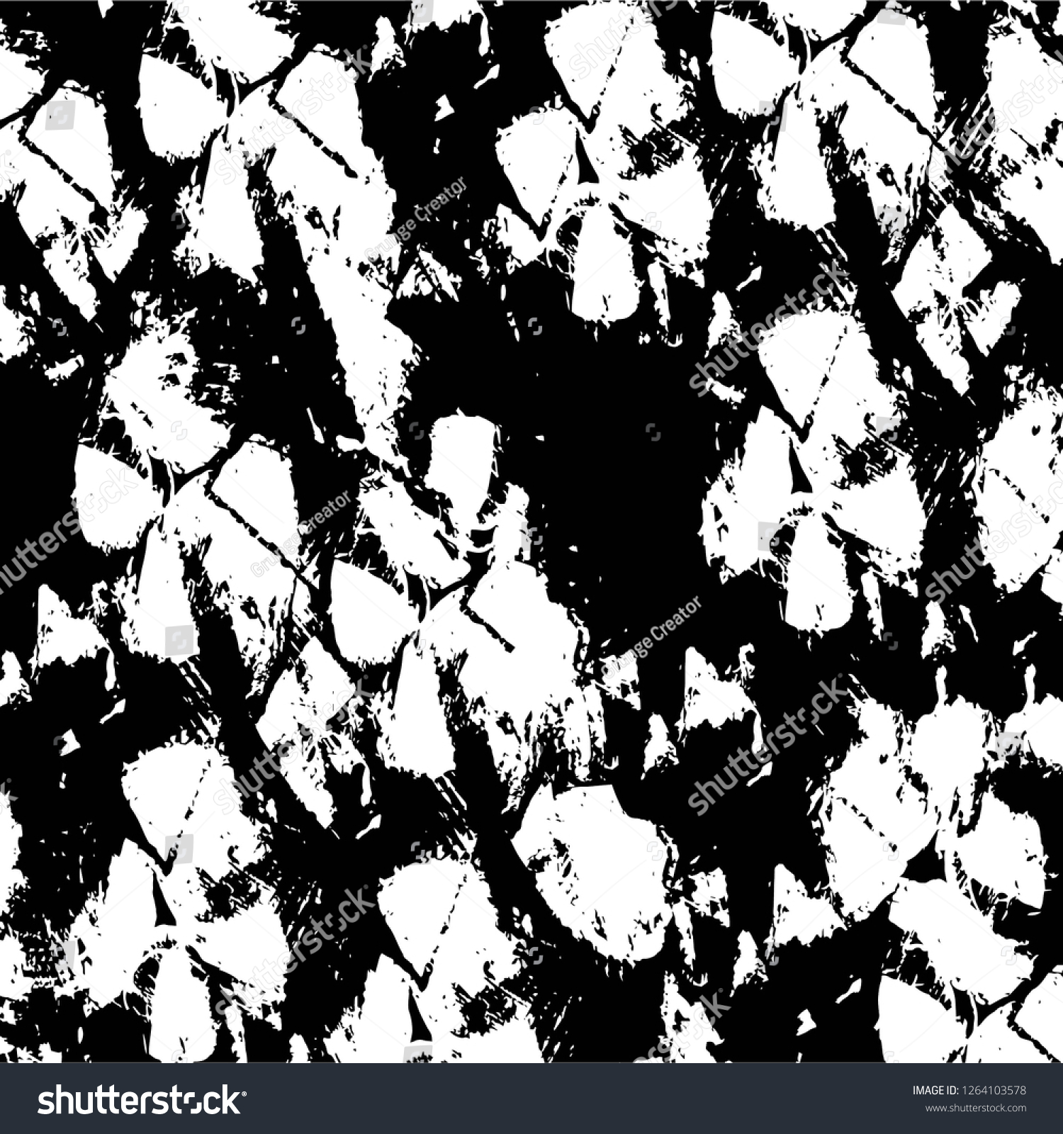 Vector grunge overlay texture black and white background abstract monochrome image includes a faded