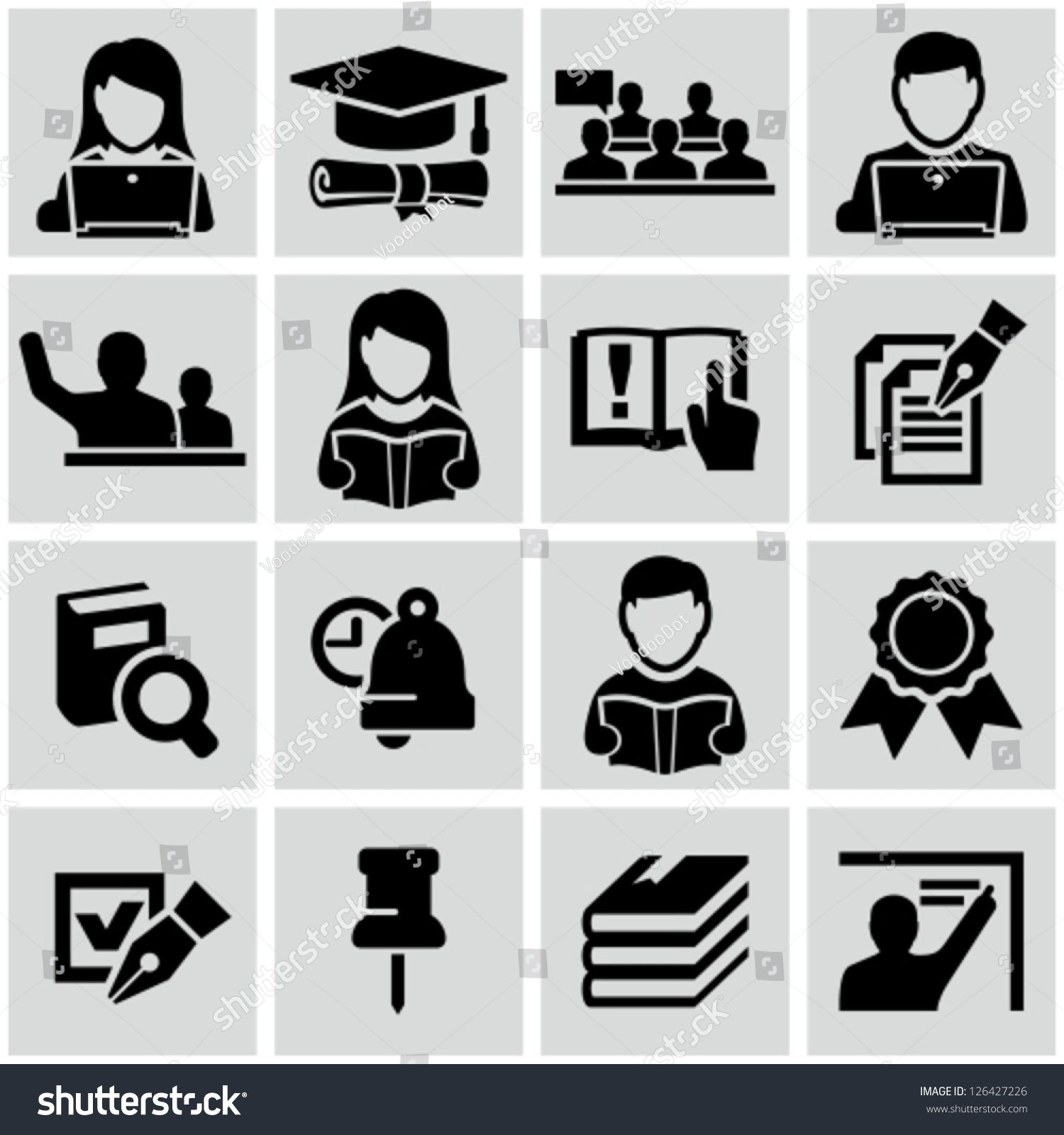 Higher Education Symbols Clip Art