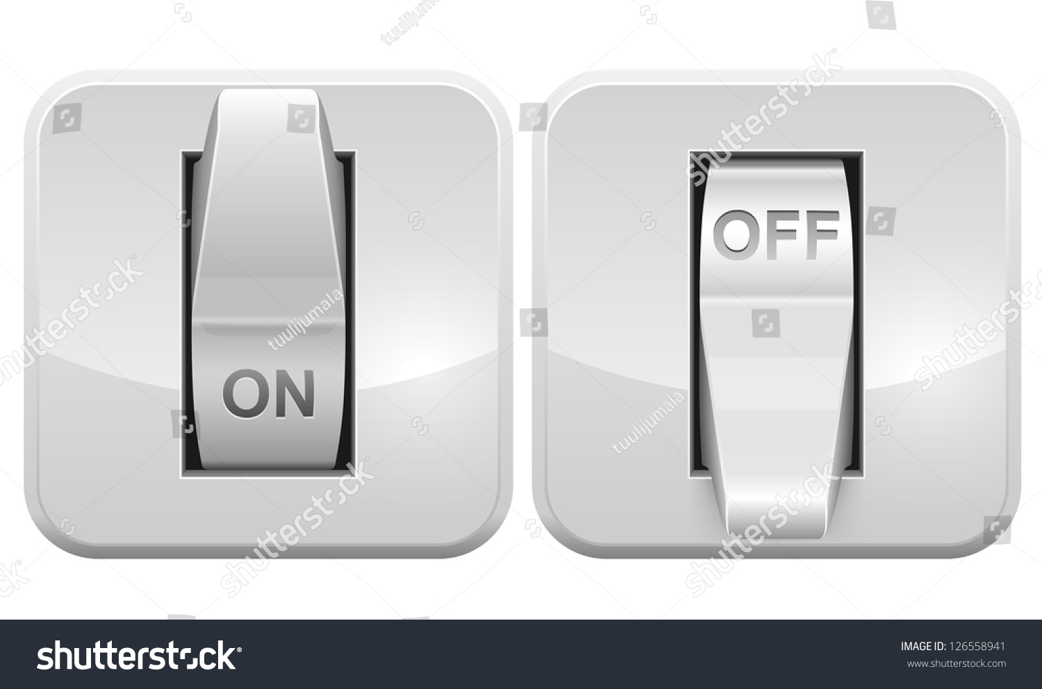 Square Circuit Icon Question About Wiring Diagram Vector Tree Stock Photo Image 34279490 Electric Switch Web Isolated Network