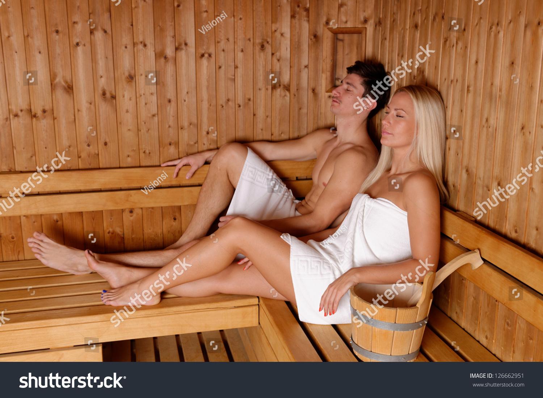 В бане с девушкой фото