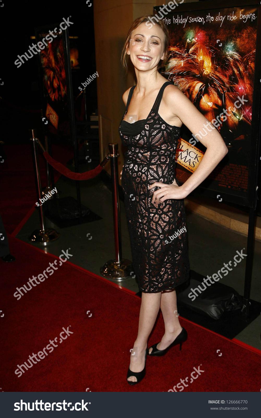 Jessica Harmon Los Angeles Premiere Black Stock Photo (Edit Now ...